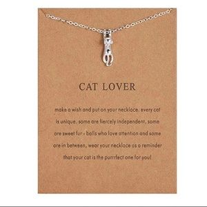 NEW!! 🐱 Cat Lover Necklace Pendant Necklace